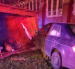 Crash Destroys Nativity